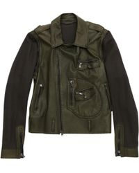 Lanvin - Pre-owned Leather Vest - Lyst