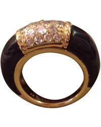 Van Cleef & Arpels - Yellow Gold Ring - Lyst