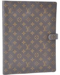 Louis Vuitton - Brown Cloth Home Decor - Lyst