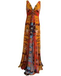 Diane von Furstenberg - Multicolour Silk Dress - Lyst