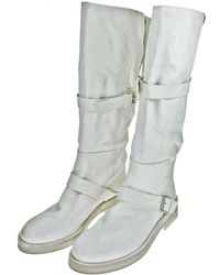 Ann Demeulemeester - Leather Boots - Lyst