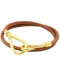 Hermès - Jumbo Brown Leather - Lyst