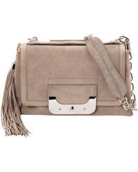 Diane von Furstenberg - Pre-owned Beige Suede Handbags - Lyst