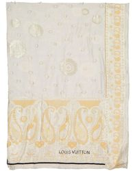 Louis Vuitton Ecru Cotton