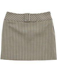 Claudie Pierlot - Pre-owned Brown Wool Skirts - Lyst