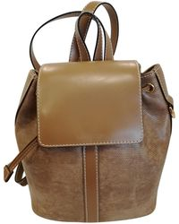 Lancel - Leather Backpack - Lyst