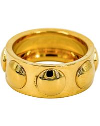 Louis Vuitton - Pre-owned Clous Yellow Gold Ring - Lyst