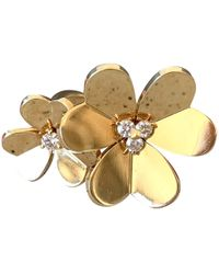 Van Cleef & Arpels - Bagues Entre Les Doigts Yellow Yellow Gold Ring - Lyst