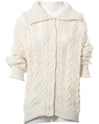 Dior - White Synthetic Knitwear - Lyst