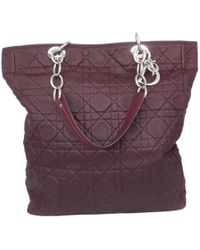 COACH X Blitz  swagger  Medium Leather Tote in Red - Lyst 1252333497c42