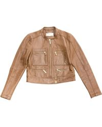 MICHAEL Michael Kors - Pre-owned Leather Jacket - Lyst