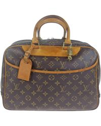 Louis Vuitton - Deauville Cloth Handbag - Lyst