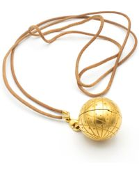 Hermès - Pre-owned Gold Gold Plated Necklaces - Lyst