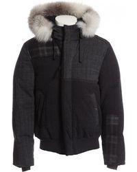 Lanvin - Grey Wool Jacket - Lyst