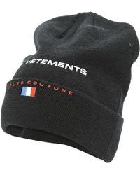 Vetements - Wool Hat - Lyst