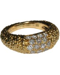 Van Cleef & Arpels - Philippine Yellow Gold Ring - Lyst