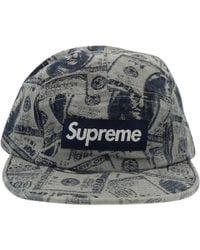 1bf8e991995 Vestiaire Collective · Supreme - Blue Synthetic Hats   Pull On Hats - Lyst
