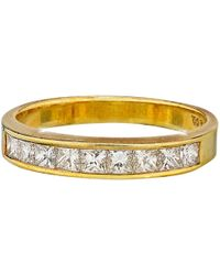 Tiffany & Co. - Pre-owned Vintage Yellow Yellow Gold Ring - Lyst
