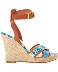 Emilio Pucci - Cloth Sandals - Lyst