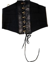 Jean Paul Gaultier - Leather Belt - Lyst