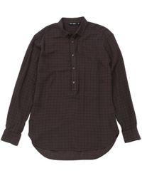 BLK DNM - Camicie In Cotone Marrone - Lyst