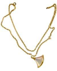BVLGARI - Pre-owned Diva's Dream White Pink Gold Bracelets - Lyst