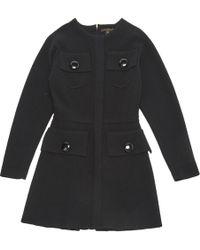 Louis Vuitton - Wool Mid-length Dress - Lyst