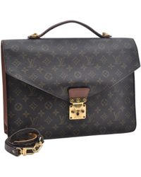 Louis Vuitton - Kourad Brown Cloth Bag - Lyst