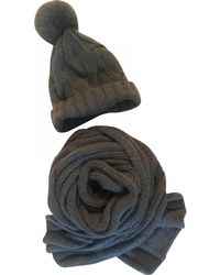 Loro Piana - Grey Cashmere Hats - Lyst