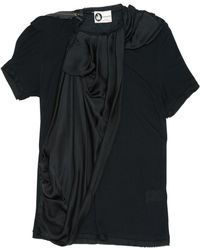 Lanvin - Pre-owned Black Viscose Top - Lyst