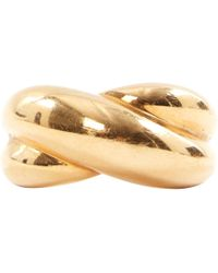 Cartier - Pre-owned Vintage Gold Yellow Gold Rings - Lyst