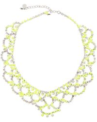 Tom Binns - Pre-owned Yellow Crystal Necklaces - Lyst