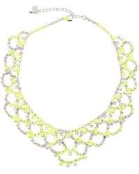 Tom Binns - Yellow Crystal Necklace - Lyst