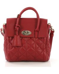 fd353b6f8f Mulberry - Cara Delevigne Red Leather - Lyst