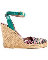 Missoni - Multicolour Cloth Heels - Lyst