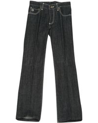 Louis Vuitton - Black Cotton Jeans - Lyst