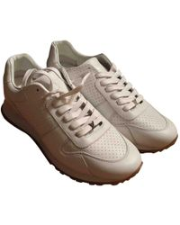 Louis Vuitton - Leather Trainers - Lyst