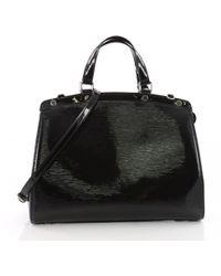 Louis Vuitton - Bréa Patent Leather Crossbody Bag - Lyst