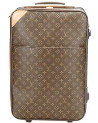 Louis Vuitton - Pegase Cloth Travel Bag - Lyst