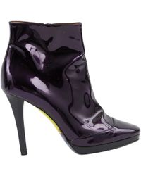 Emilio Pucci - Patent Leather Boots - Lyst