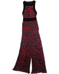 Balmain - Multicolour Velvet Jumpsuit - Lyst