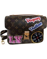 Louis Vuitton - Pre-owned Metis Multicolour Cloth Handbags - Lyst