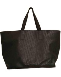 Dior - Black Cotton Bag - Lyst