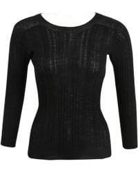 Thakoon - Black Wool Knitwear - Lyst