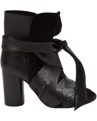 Isabel Marant - Black Suede Ankle Boots - Lyst