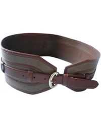 Sandro - Pre-owned Brown Leather Belts - Lyst