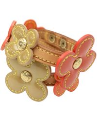 Louis Vuitton - Leather Bracelet - Lyst