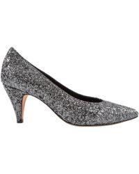 IRO - Pre-owned Grey Glitter Heels - Lyst
