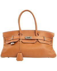Hermès - Besace Birkin Shoulder en cuir - Lyst