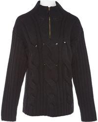 Jean Paul Gaultier - Vintage Black Wool Knitwear & Sweatshirts - Lyst